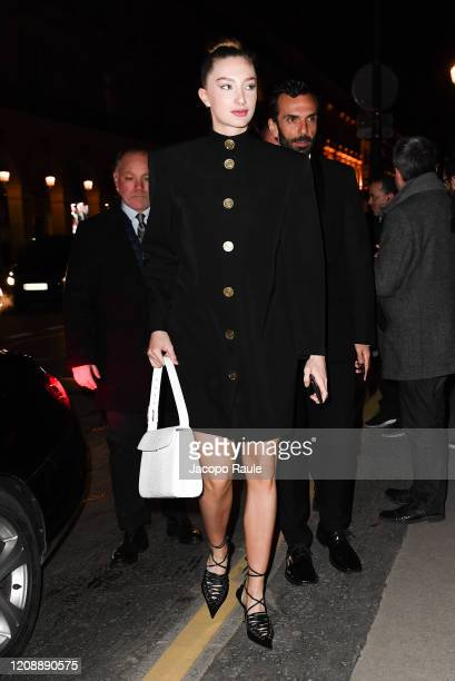 Mathilde Pinault attends the Harper's Bazaar Exhibition as part of the Paris Fashion Week Womenswear Fall/Winter 2020/2021 At Musee Des Arts...