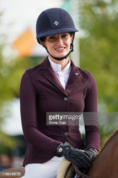 Mathilde Pinault of France during the Brussels Stephex Masters on August 31 2019 in Brussels Belgium