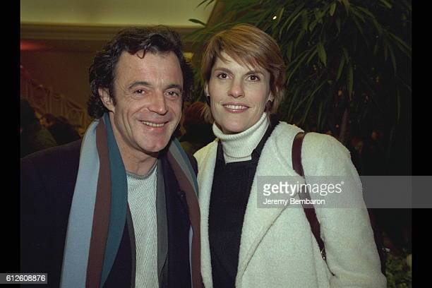 Mathilde Vitry and an actor friend
