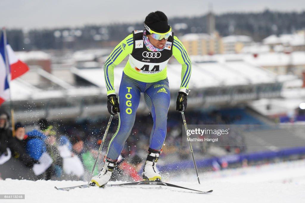 Men's and Women's Cross Country Sprint - FIS Nordic World Ski Championships : News Photo