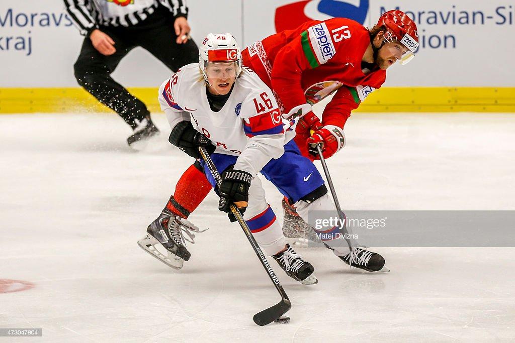 Norway v Belarus - 2015 IIHF Ice Hockey World Championship