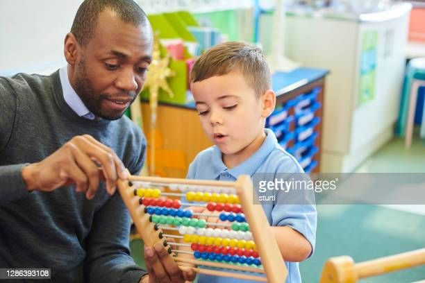 maths interaction - teacher stock pictures, royalty-free photos & images