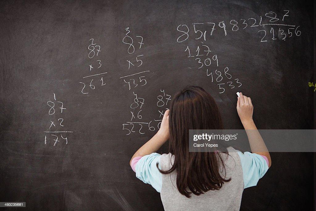 Maths. : Stock Photo