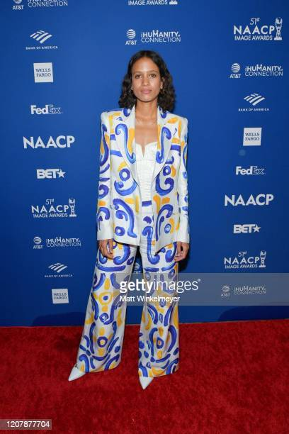 Mati Diop attends the 51st NAACP Image Awards nontelevised Awards Dinner on February 21 2020 in Hollywood California