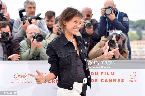 Mati Diop attends the Atlantics Photocall during the 72nd annual Cannes Film Festival on May 17 2019 in Cannes France