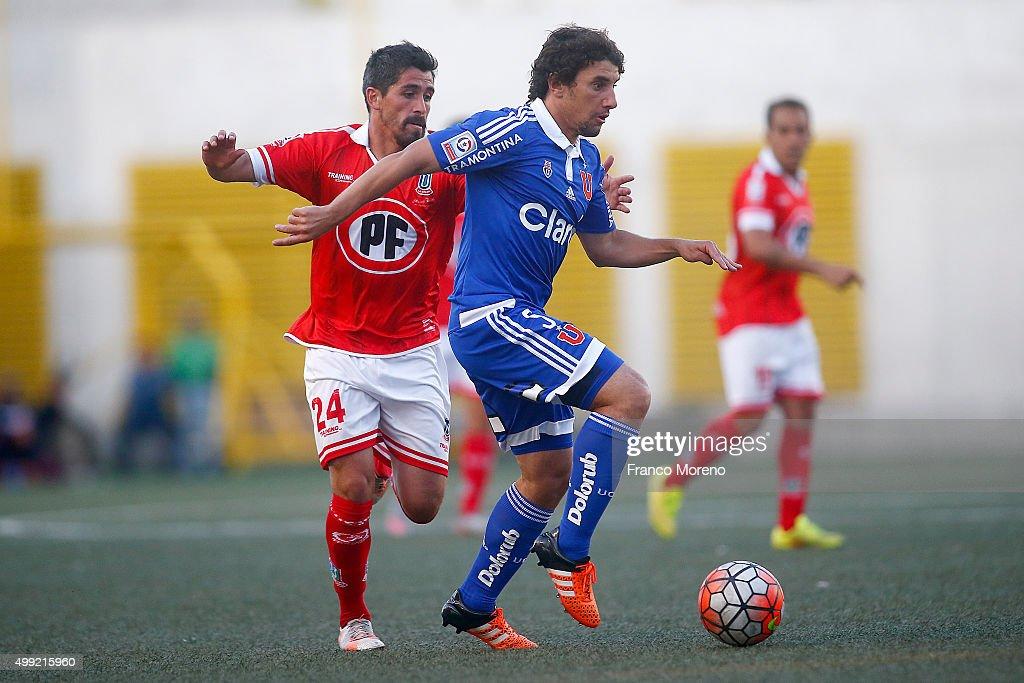 Union La Calera v U de Chile - Campeonato Apertura 2015