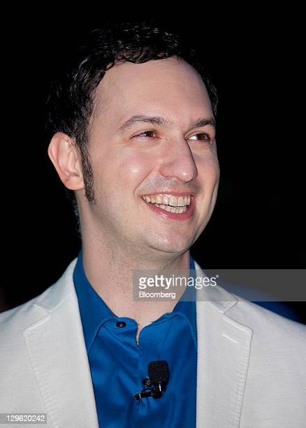 Matias Duarte senior vicedirector of the Android operating system for user experience at Google Inc attends the launch event for the Samsung...
