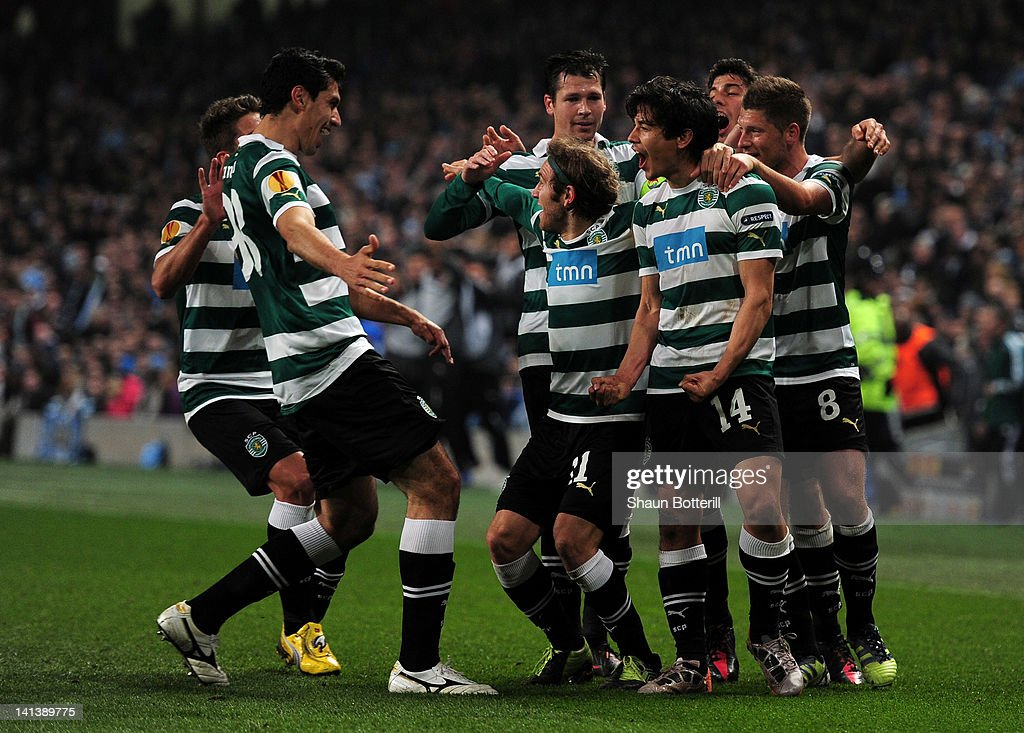 Manchester City FC v Sporting Lisbon - UEFA Europa League Round of 16