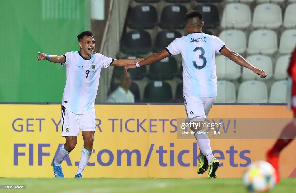 Paraguay v Argentina - FIFA U-17 World Cup Brazil 2019 : News Photo