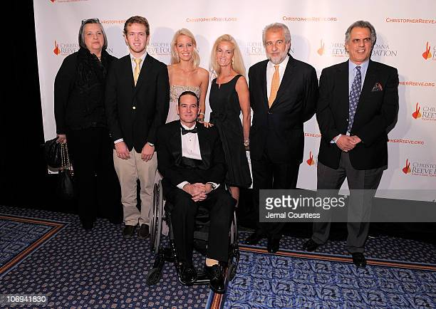 Matias GonzalezBunster Carolina GonzalezBunster Luis GonzalezBunster and guests attend the Christopher Dana Reeve Foundation's A Magical Evening 20th...