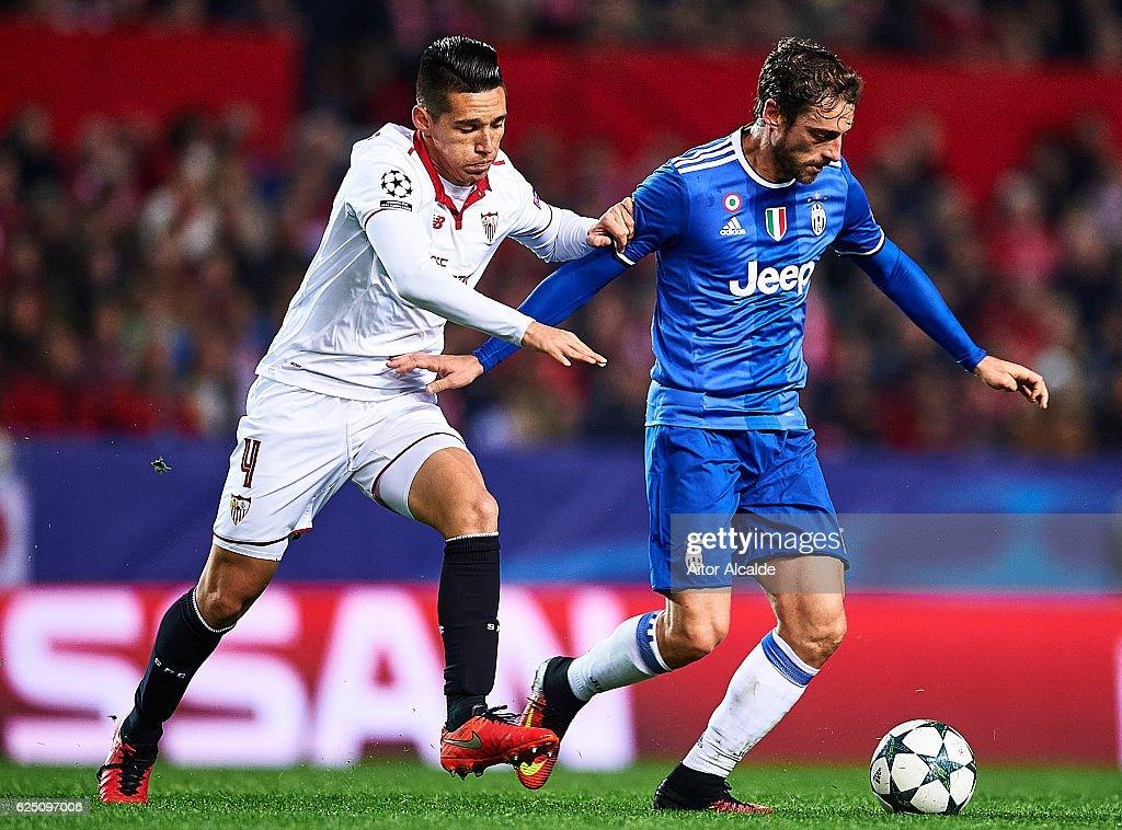 Sevilla FC v Juventus - UEFA Champions League : News Photo