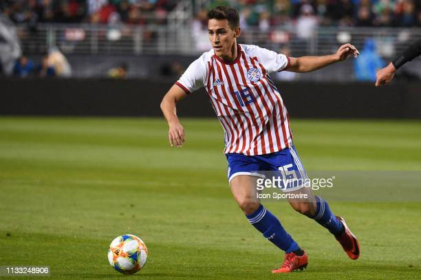 Matias Rojas of Paraguay during the International Friendly Match between Mexico and Paraguay at Levi's Stadium on March 26 2019 in Santa Clara CA