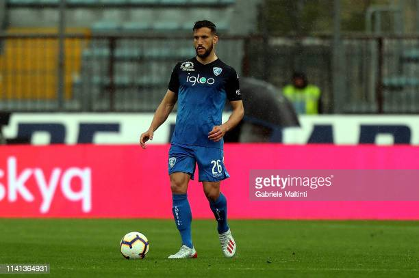 Matias Silvestre of Empoli FC in action during the Serie A match between Empoli and ACF Fiorentina at Stadio Carlo Castellani on May 5 2019 in Empoli...