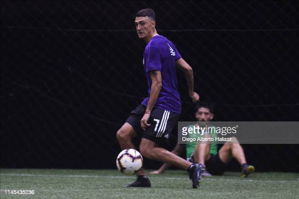 Matias Suarez of River Plate during a training session at CAT Alfredo Gottardi on May 21 2019 in Curitiba Brazil River Plate will face Atletico...