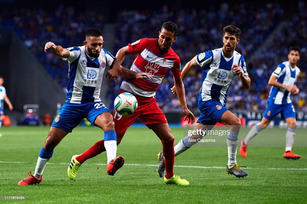 RCD Espanyol v Granada CF  - La Liga : Fotografía de noticias