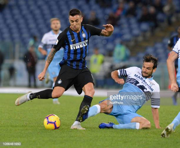 Matias Vecino during the Italian Serie A football match between SS Lazio and Inter at the Olympic Stadium in Rome on october 29 2018