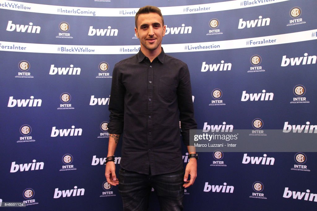 Matias Vecino of FC Internazionale attends BWin event on September 13, 2017 in Milan, Italy.
