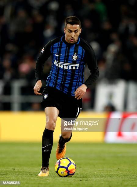 Matias Vecino of FC Internazionale in action during the Serie A football match between FC Juventus and Internazionale at the Allianz Stadium in Turin...