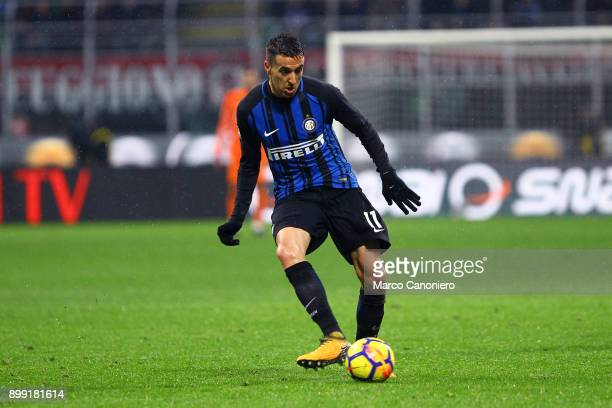Matias Vecino of FC Internazionale in action during the Tim Cup football match between Ac Milan and Fc Internazionale Ac Milan wins 10 over Fc...