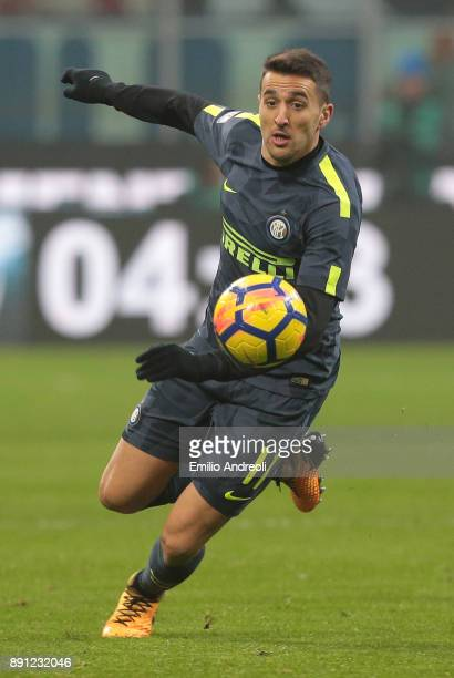 Matias Vecino of FC Internazionale Milano in action during the TIM Cup match between FC Internazionale and Pordenone at Stadio Giuseppe Meazza on...