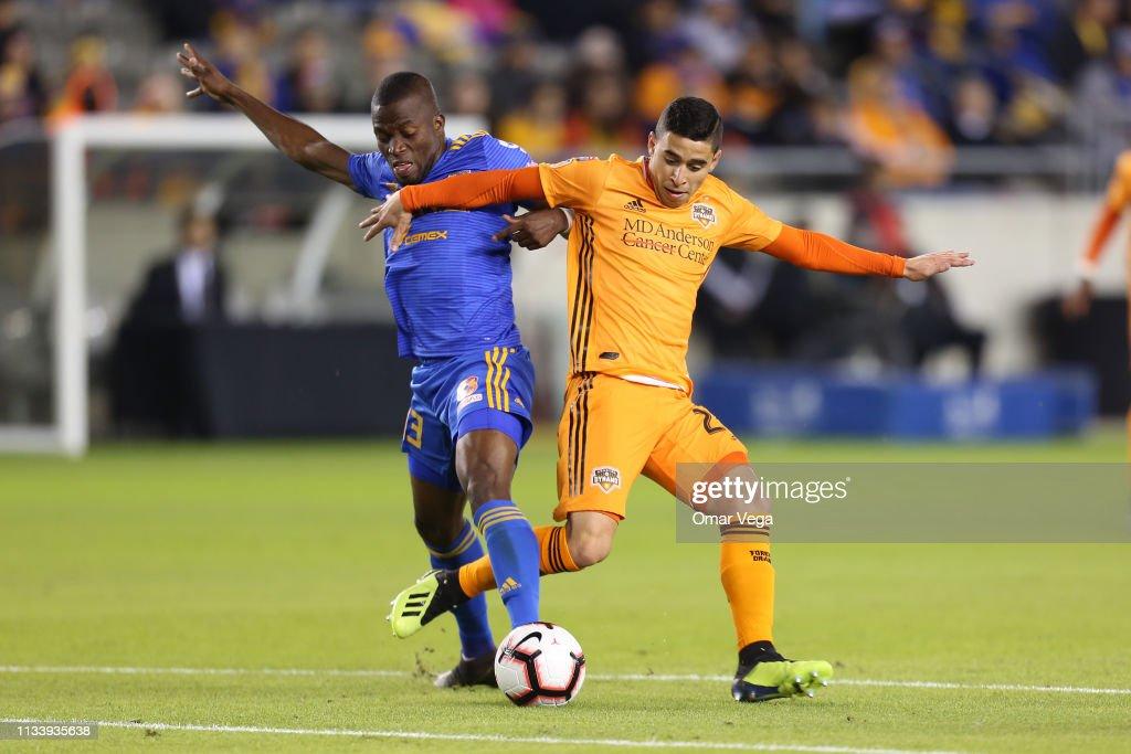 Houston Dynamo v Tigres UANL - CONCACAF Champions League 2019 : News Photo