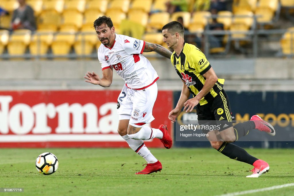 A-League Rd 18 - Wellington v Adelaide