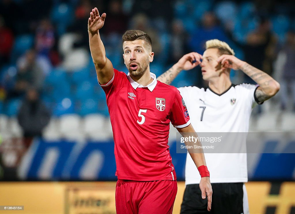 Serbia v Austria - FIFA 2018 World Cup Qualifier : News Photo