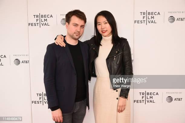 "Matija Strnisa and Bora Kim attend the ""House Of Hummingbird"" screening during the 2019 Tribeca Film Festival at Village East Cinema on April 27,..."