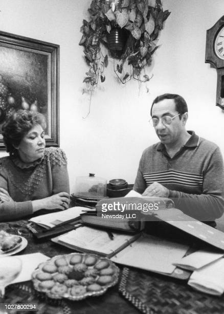 Matilda and Mario Cuomo at their residence in Queens NY the day after Mario Cuomo won election to the office of Governor of the State of New York on...