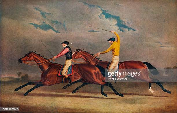 'Matilda Beating Mameluke St Leger 1827' 1827 From The Connoisseur Volume LXXXIV edited by C Reginald Grundy [The Connoisseur Ltd London 1929]