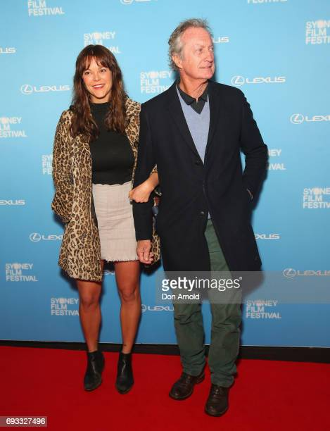 Matilda Brown and Bryan Brown arrive ahead of the Sydney Film Festival Opening Night Gala at State Theatre on June 7, 2017 in Sydney, Australia.