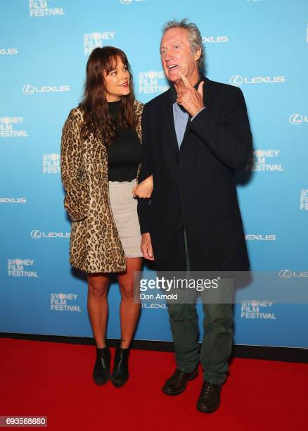 Matilda Brown and Bryan Brown arrive ahead of the Sydney Film Festival Opening Night Gala at State Theatre on June 7 2017 in Sydney Australia