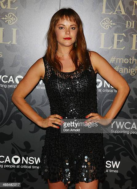 Matilda Brown arrives at the YMCA Mother of All Balls at Sydney Town Hall on May 24, 2014 in Sydney, Australia.