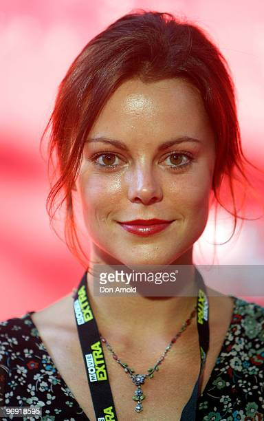 Matilda Brown arrives on the red carpet at the Tropfest 2010 short film festival at The Domain on February 21, 2010 in Sydney, Australia.