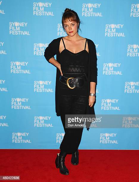"Matilda Brown poses at the Australian premiere of the ""The Last Impresario"" during the Sydney Film Festival on June 11, 2014 in Sydney, Australia."