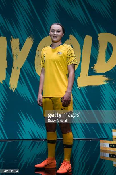 Matilda Caitlin Ford during the Nike Football: Australian National Team Kit Launch on April 5, 2018 in Sydney, Australia.