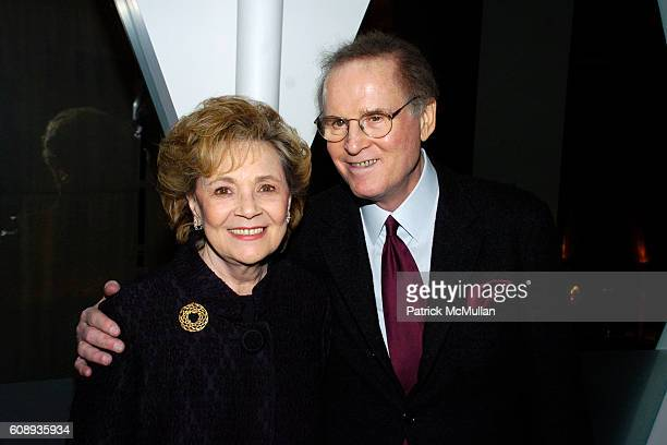 Matilda Cuomo and Charles Grodin attend Reception for The Launch of Charles Grodin's Book IF I ONLY KNEW THENLEARNING FROM OUR MISTAKES at Le Cirque...