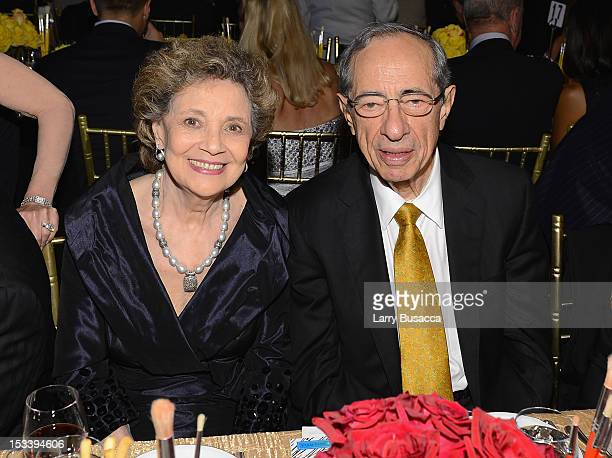 Matilda Cuomo and Mario Cuomo attend the 6Th Annual Exploring the Arts Gala hosted by Tony Bennett And Susan Benedetto at Cipriani 42nd Street on...