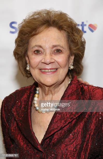 Matilda Cuomo attends a reception for Theatre Forward's Chairman's Awards Gala at the Pierre Hotel on April 8 2019 in New York City