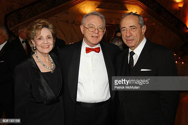 Matilda Cuomo Dr Herbert Pardes and Mario Cuomo attend STEVEN ANGELA KUMBLE'S Wedding Celebration at Metropolitan Club on April 13 2007 in New York...