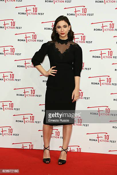 Matilda De Angelis attends the 'Good Behavior' red carpet during the Roma Fiction Fest 2016 at The Space Moderno on December 10 2016 in Rome Italy