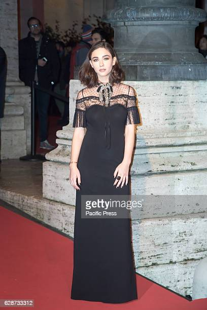 """Matilda De Angelis during the Second Day for Roma Fiction Fest 10 The Space Cinema Moderno on the Red Carpet of the movie """"From father to daughter,""""..."""