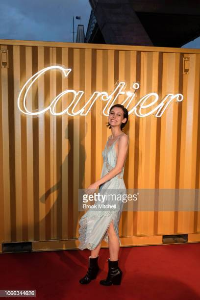 Matilda Dodds attends the Cartier Precious Garage Party on November 29 2018 in Sydney Australia