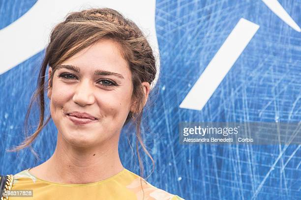 Matilda Lutz attends a photocall for 'L'Estate Addosso Summertime' during the 73rd Venice Film Festival at on September 1 2016 in Venice Italy