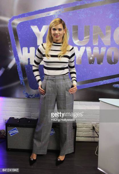 Matilda Lutz visits the Young Hollywood Studio on February 1 2016 in Los Angeles California