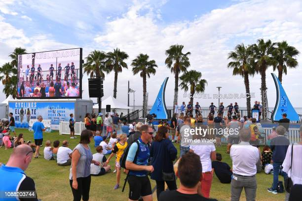 Matilda Raynolds of Australia and Team Specialized Women's Racing / Ella Bloor of Australia and Team Specialized Women's Racing / Jaime Gunning of...