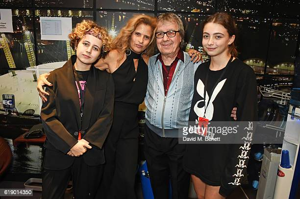 Matilda Wyman Suzanne Wyman Bill Wyman and Jessica Wyman attend Bill Wyman's 80th Birthday Gala as part of BluesFest London at Indigo at The O2 Arena...