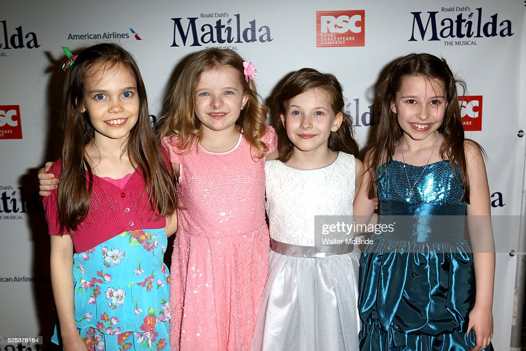 Oona Laurence Milly Shapiro Bailey Ryon Sophia Gennusa Attending The Broadway Opening Night