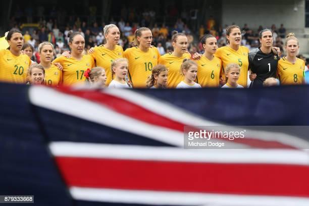 Australia Womens National Soccer Team Stock Photos and ...