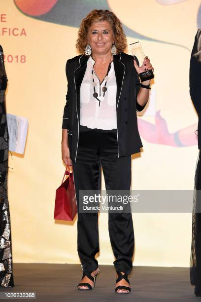 Matilde Bernabei attends 2018 Kineo Awards during the 75th Venice Film Festival at Excelsior Hotel on September 2 2018 in Venice Italy